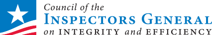 Logo for Council of Inspectors General on Integrity and Efficiency