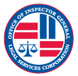 Logo for Office of Inspector General - Legal Services Corporation
